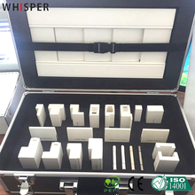 Adjustable PVC window plantation shutter components