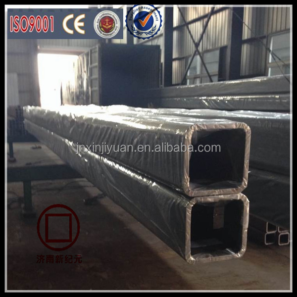 Black anneal square and rectangular pipe/tube best price