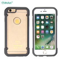 Extreme Slim Premium Armor Sealed transparent Case for Iphone 6S Plus Protective Heavy
