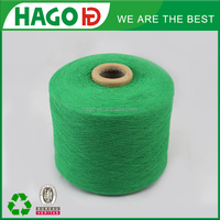Ne 12s pick dyed yarn for various bath towel /kntting socks recycled cotton yarn price