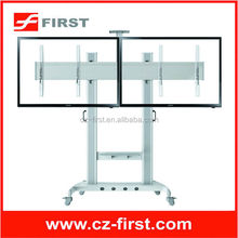 "Vertical rotation movable up and down tv mount with TV top-box plate FOR 40"" - 60"" LCD screen Flat Panel"