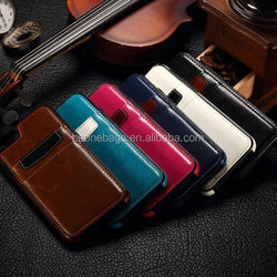 wholesale leather men's ticker smart wallet mobile card holder travle wallet
