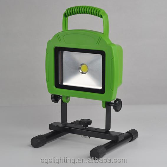 high power 20W COB rechargeable led work light