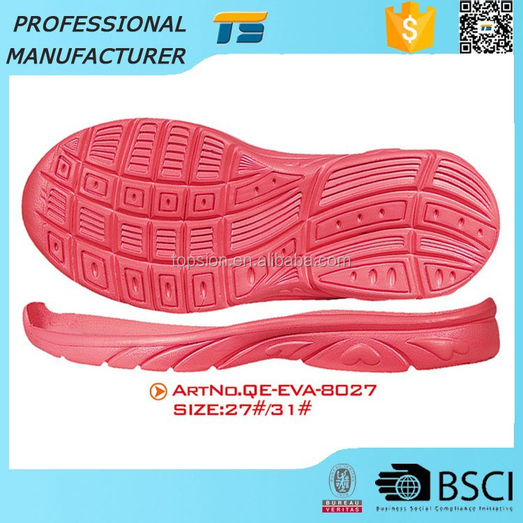 Sneaker Sole Manufacturers Eva Sport Kids Outsoles For Sport Shoes
