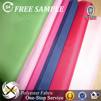 polyester pongee waterproof fabric cheap tulle fabric bamboo terry fabric