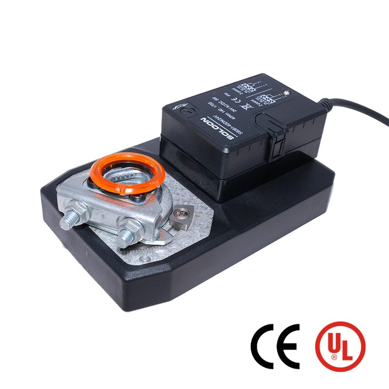 New Type 40NM 24V Modulating CE UL Listed General Damper Actuator for HVAC System