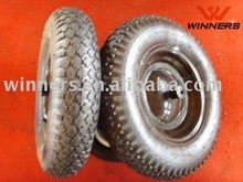 4.00-8 3.50-8 wheelbarrow 16 inch rubber wheel