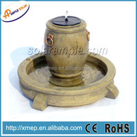 F903 Polyresin outdoor water fountain