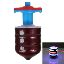 Alibaba Best Seller Wholesale Toys Laser-Top Dual Laser Light Show Gyro Spinning Toy with Launcher