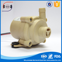 Electric power submersible motor 12 volt dc water pump for Cooling system / Solar energy / Fountain