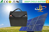 JL factory can Oem Sealed Lead Acid Battery 12v80ah Solar Battery for solar power system best quality battery