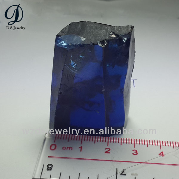 AAA China manufacturing uncut cz gemstone rough tanzanite wholesale
