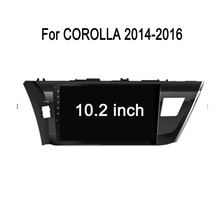 "HD 1024*600 New Models 9"" Capacitive For Toyota Corolla 2016 Left Side 2 Din Android Car DVD"