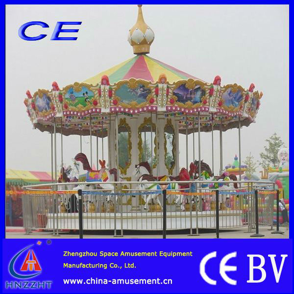 outdoor/indoor commercial kitchen carousel for carnival kis games