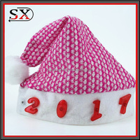 Wholesale Christmas Gift Happy Christmas Led Hat Good Quality Flashing Light Led Hat