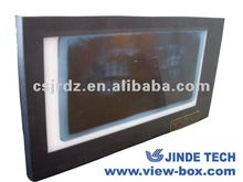 Dental x ray film viewer for dental equipment