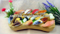 Handmade Japanese 3D fake sushi food model/Artifical sushi fridge magnets for promotions and gifts/ Fake Sushi keyrings