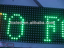 Alibaba express wholesale price P10 1R 1G 1Y 1W 1B outdoor single color led module