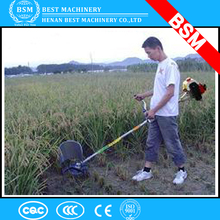 Combine Cheap Mini Manual Wheat Cutter Harvester / rice weeder mini harvester