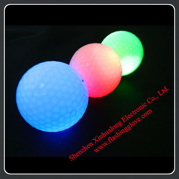 More Than Real Playing Experience High Quality Led Flashing Golf Balls
