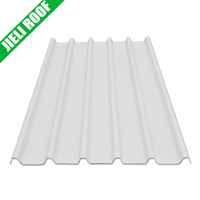 Sound absorption corrugated plastic roofing sheet