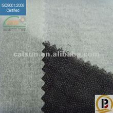 woven buckram fabric knitting fusible interlining