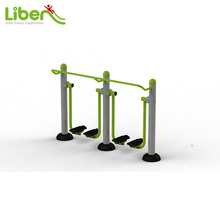 Double Air Walker Galvanized Steel Outdoor Gym Walking Fitness Equipment for Park and Comunity