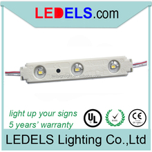 UL certified:E468389 SMD 2835 LED light for lightbox and channel letter 0.72w with lens and 5 years warranty