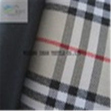 300D Polyester Yarn-dyed checked Fabric With PVC Coating fro Suitcase