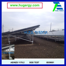 Preassembly Aluminium Ground Mounting Structure Easy Installation