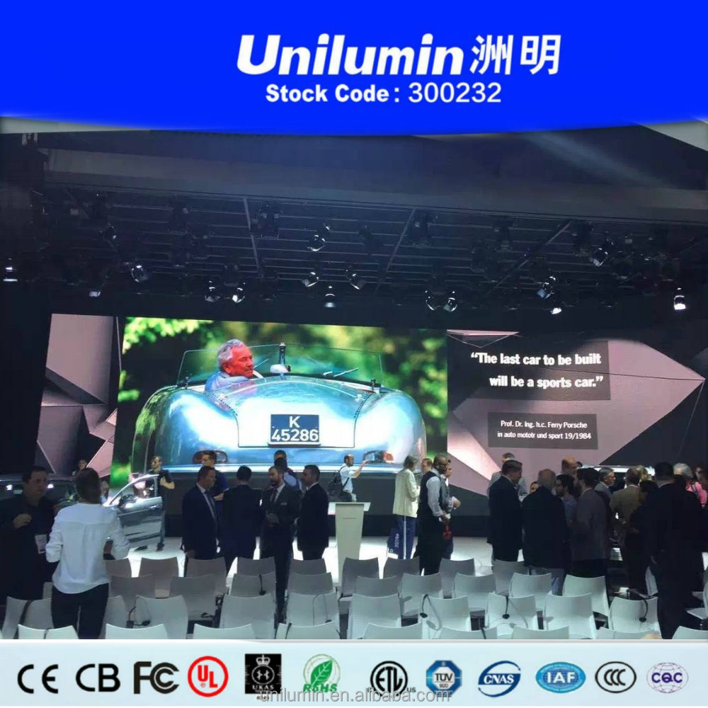 P2 led screen display for staging shows
