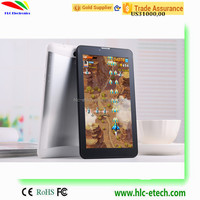 MTK6572 Dual core 2MP/0.3MP camera Built-in 3G 2 camera low cost tablet pc