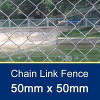 50*50mm/60*60mm Chain Link Plastic Garden Fence