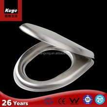 stainless steel wall hanging toilet seat