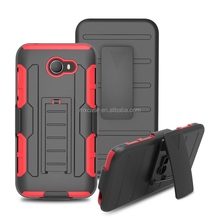 Cheap price top quality China supplier silicon PC kickstand hybrid case for alcatel phone A30 Fierce/A30 2017/Walters