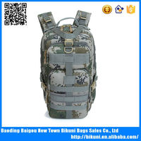 Hot selling large canvas camo hunting&hiking trekking backpack
