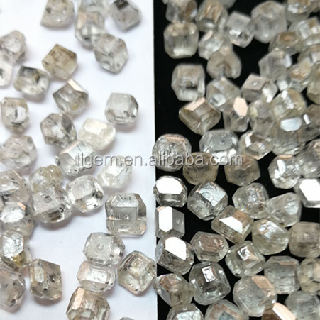 2017 synthetic white loose uncut lab grown cvd diamonds for sale