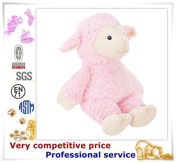 2015 Cute Plush Sheep Toys, purple sheep
