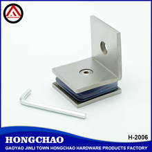 Heavy duty stainless steel 90 degree glass clamps
