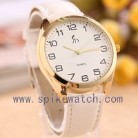 2016 latest fashion design leather ladies fancy wrist watches