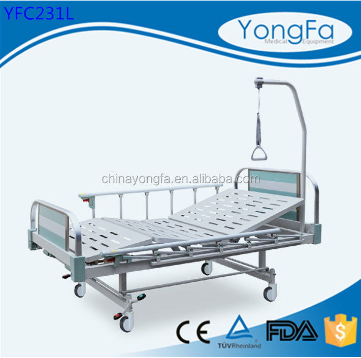 Chinese Hospital Use YFC261L Manual Stryker Hospital Beds,Cheap price medical manual hospital bed,high quality manual patient be