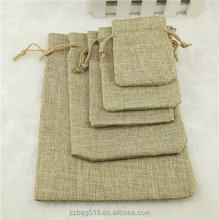 manufacturer price china factory small cheap gift drawstring promotional jute bag