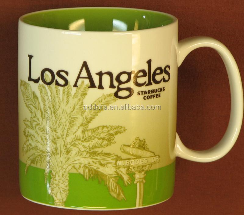 Starbucks Ceramic Coffee Mug Unique Shape Ceramic Coffee