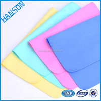 HST4432 Luxury super absorbent car washing cloth synthetic leather PVA Dry cleaning Towel