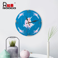 Creative cartoon Sen dream clock wood decorative painting children 's room ornaments living room wall hanging pendant