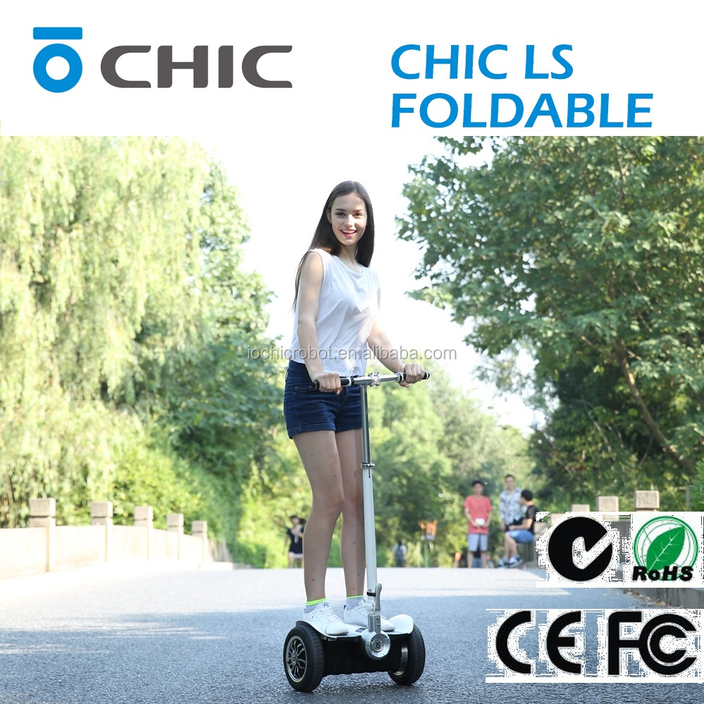 IO Chic Robot Hot Sale Electric Scooter With Hand Bar Hot Sale
