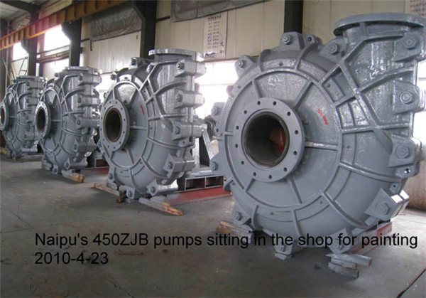 Manufacturer price slurry pump for gold mine
