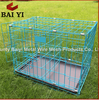 Dog Cage Crate Folding Kennel with Divider Pet Puppy Pen ABS Tray Pan