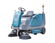 SDK1600 CE China industrial electric ride-on vacuum road sweeper