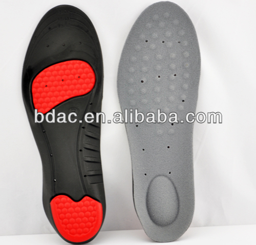 breathable comfort foam rubber insoles